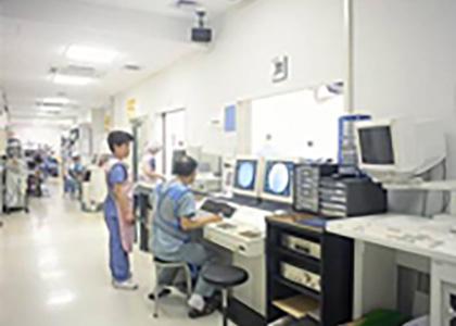 心血管カテーテル検査室