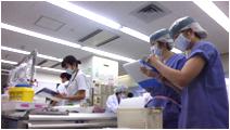 ICD・ICN・検査技師等少人数でのラウンド